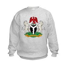 nigeria Coat of Arms Sweatshirt