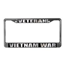 Vietnam War Veteran License Plate Frame