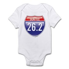 Seattle Marathon Infant Bodysuit