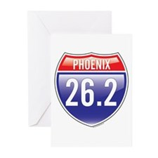 Phoenix Marathon Greeting Cards (Pk of 10)