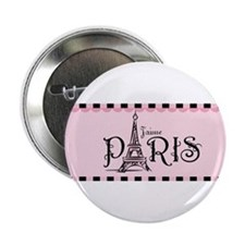 "J'aime Paris 2.25"" Button"