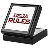 deja rules Keepsake Box