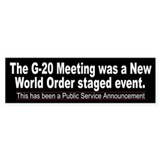 G-20 Meeting NWO Event