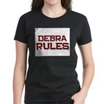 debra rules Women's Dark T-Shirt