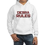 debra rules Hooded Sweatshirt