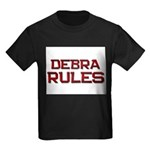 debra rules Kids Dark T-Shirt