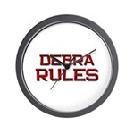 debra rules Wall Clock