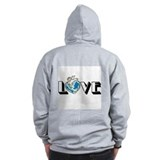 Earth Day Love Zip Hoodie