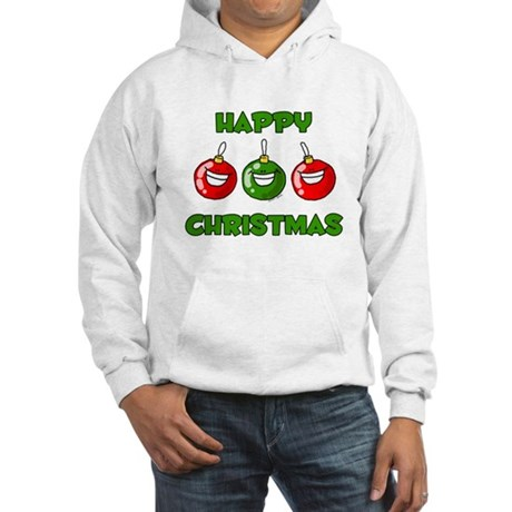 Happy Merry Christmas Hooded Sweatshirt