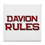 davion rules Tile Coaster