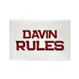 davin rules Rectangle Magnet (10 pack)