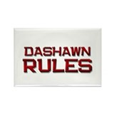 dashawn rules Rectangle Magnet (10 pack)