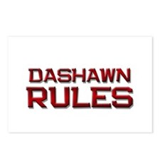dashawn rules Postcards (Package of 8)