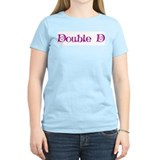Double D's Women's Pink T-Shirt