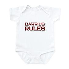 darrius rules Infant Bodysuit