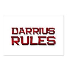 darrius rules Postcards (Package of 8)