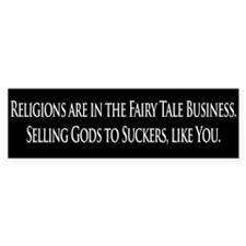 Selling Gods bumper sticker