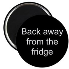 "Back away 2.25"" Magnet (10 pack)"
