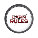 darin rules Wall Clock