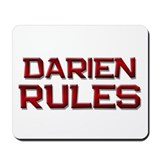 darien rules Mousepad