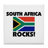 South Africa Rocks Tile Coaster