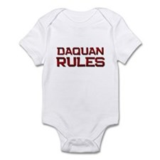 daquan rules Infant Bodysuit