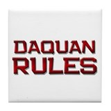 daquan rules Tile Coaster