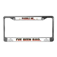 Unique Las vegas frame License Plate Frame