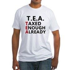 TEA Taxed Enough Already Shirt