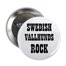 "SWEDISH VALLHUNDS ROCK 2.25"" Button (10 pack)"