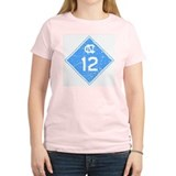 North Carolina Highway 12 Women's Pink T-Shirt