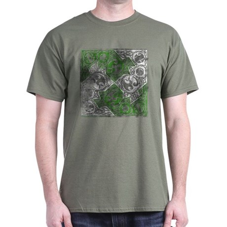 Celtic Puzzle Square Dark T-Shirt