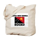 Papua New Guinea Rocks Tote Bag