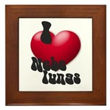 """I Love Nebelungs!"" Framed Tile"