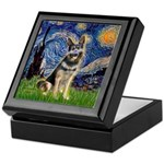 Starry / German Shepherd 10 Keepsake Box