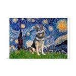 Starry / German Shepherd 10 Mini Poster Print