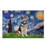 Starry / German Shepherd 10 Postcards (Package of