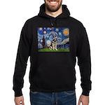 Starry / German Shepherd 10 Hoodie (dark)