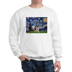 Starry / German Shepherd 10 Sweatshirt