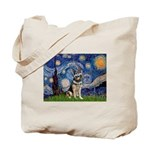 Starry / German Shepherd 10 Tote Bag