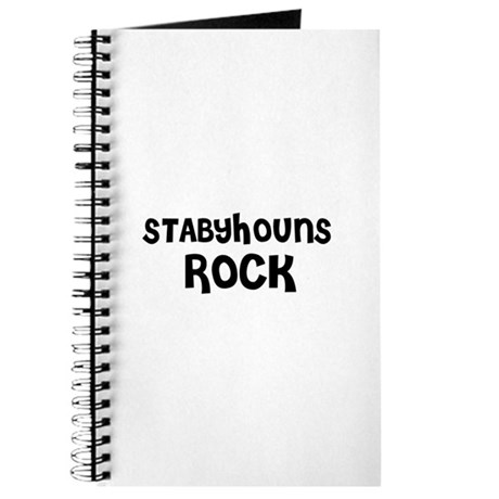STABYHOUNS ROCK Journal
