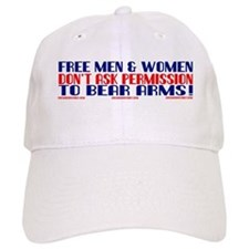 FREE MEN & WOMEN DON'T ASK PERMISSION Baseball Cap