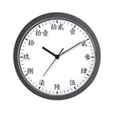 Traditional Chinese Wall Clock