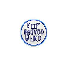 Keep Nauvoo Weird Mini Button (10 pack)