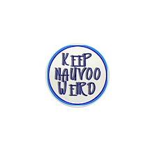 Keep Nauvoo Weird Mini Button
