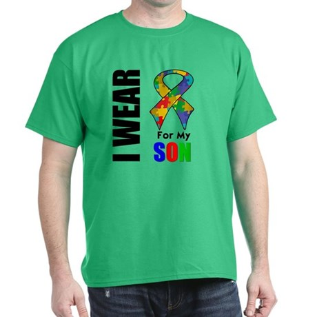 Autism Son Dark T-Shirt