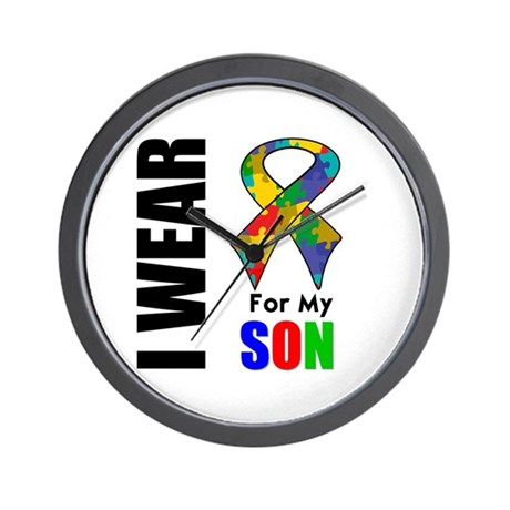 Autism Son Wall Clock