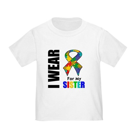 Autism Sister Toddler T-Shirt