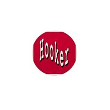 Hooker Mini Button (10 pack)