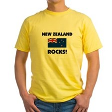 New Zealand Rocks T